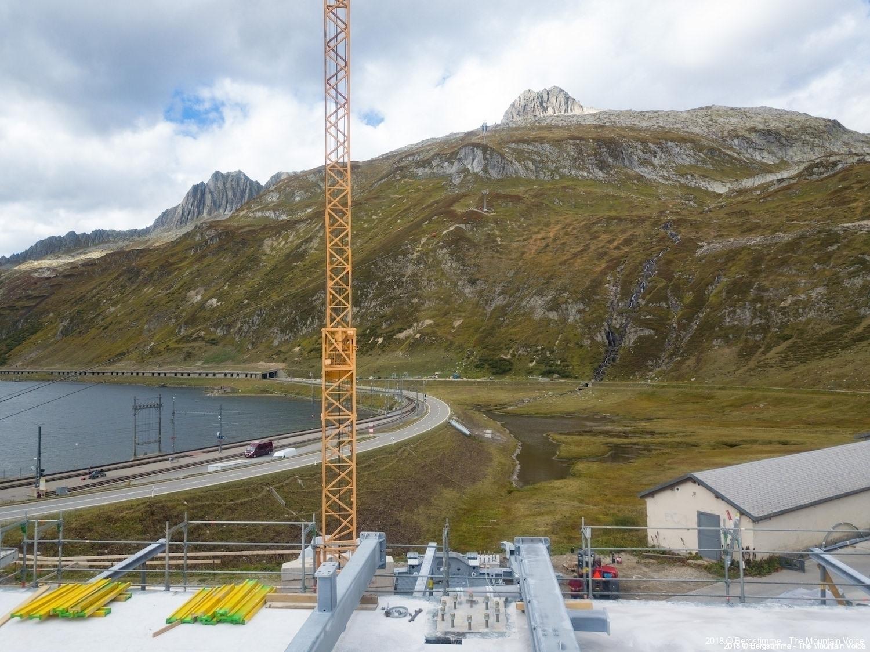 Talstation mit Blick Richtung Bergstation