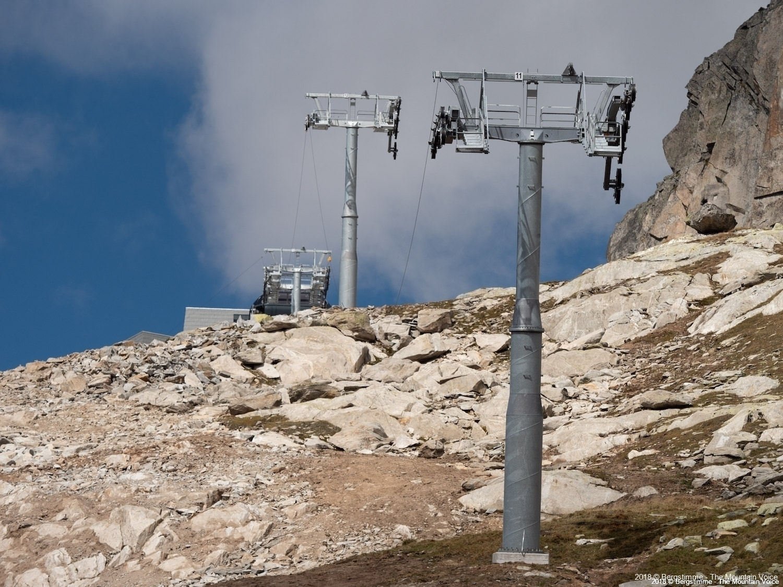 Masten vor Bergstion