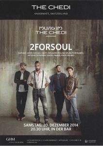 Live 2FORSOUL @ Miusic im The Chedi   Göschenen   Uri   Schweiz